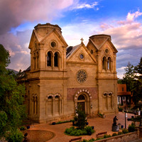 The Cathedral Basilica of St. Francis of Assisi-Santa Fe, New Mexico